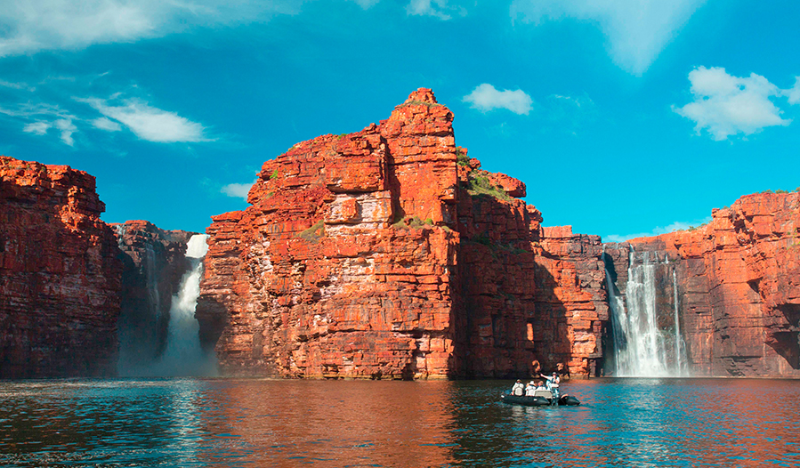 We're cruising The Kimberley with Ponant Cruises