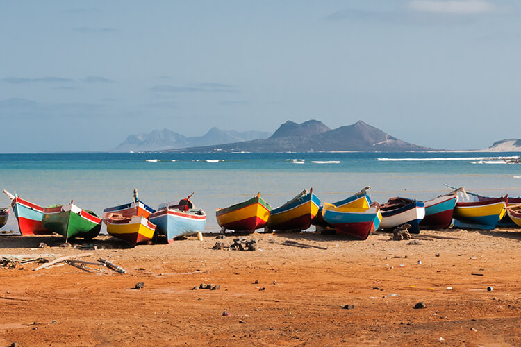 The Bijagos Archipelago and Cape Verde