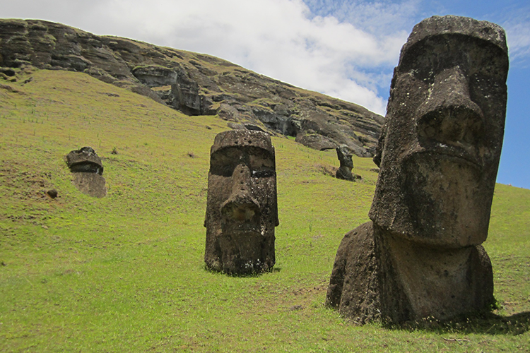 Experience History: Easter Island to Pape'ete