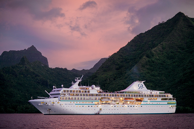 M/S Paul Gauguin Cruises Ships Pics