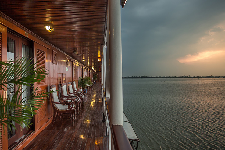 RV Mekong Pandaw River Cruise Ship