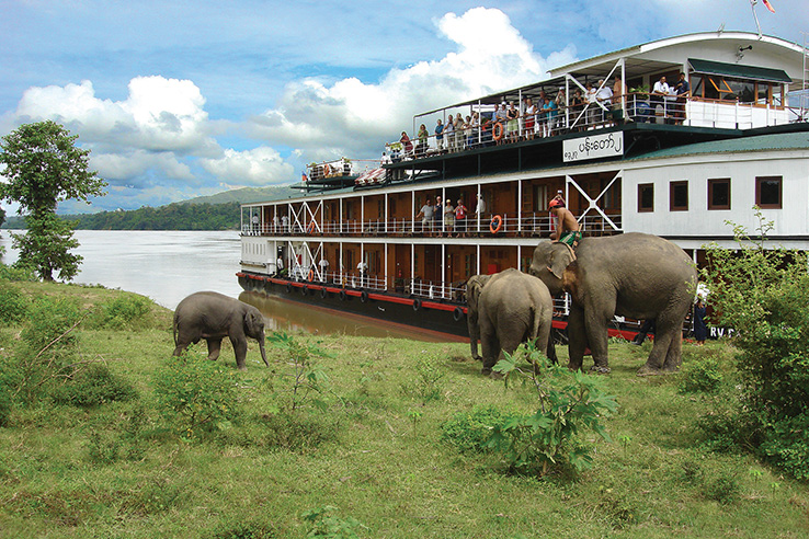 Pandaw II Ship Image Riverboat
