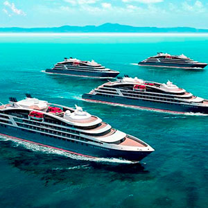 The new additions to Ponant's fleet